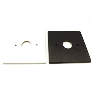"""5"""" Flat Square Canopy w/ Mounting Holes Series"""
