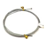 "AC 1/16 [XX] HB1/16"" Cable Assembly w/#2 Half Ball Stop"