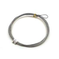 """AC 3/64-132G-L3/64"""" Cable 132""""L W/1""""Loop"""