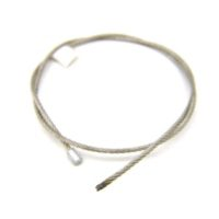 """AC3/32-[XX]G3/32"""" Galvanized Cable Assembly w/#1 Stop"""