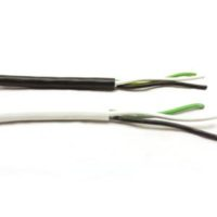 SCCoil 12/312/3 Straight Cord-300V Black or White