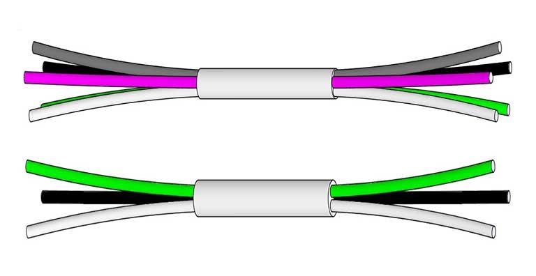 Power Cord Horizontal