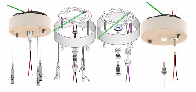Remote Driver pendant lighting kits